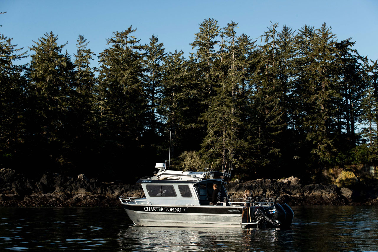 Sea-Wolf is a commercial charter Vessel operating out of Tofino, BC.